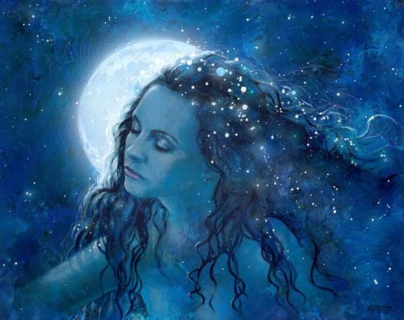 Stregati dalla luna : il fascino eterno dell'astro d'argento