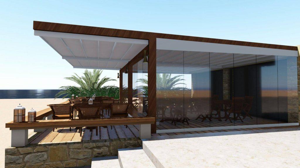 conseils pour choisir la pergola r tractable adapt e votre restaurant. Black Bedroom Furniture Sets. Home Design Ideas
