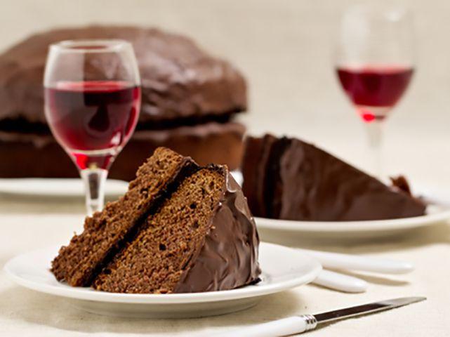 vino -cioccolato