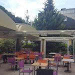 Le prestigieux restaurant Le Trianon a nettement amliorson aspect esthtiquehellip