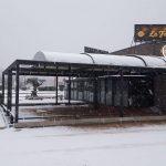 Mentainment nous travaillons sous la neige en France!