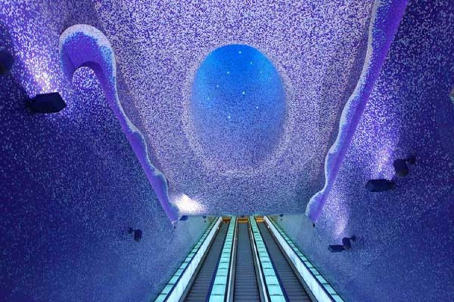 stazioni metro più belle del mondo