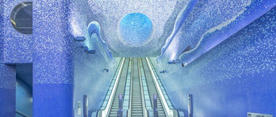 stazioni metro piu' belle del mondo