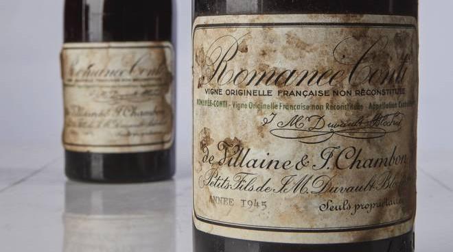 il vino piu costoso al mondo