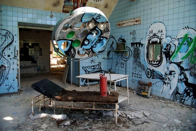 posti abbandonati più spaventosi del mondo